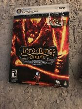 Lord of the Rings Online Mines of Moria PC Game Lot BONUS Shadows Of Angmar