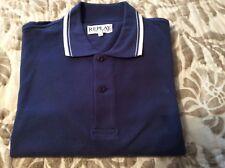 Replay NAVY polo shirt size XXL , brand new, 100% cotton