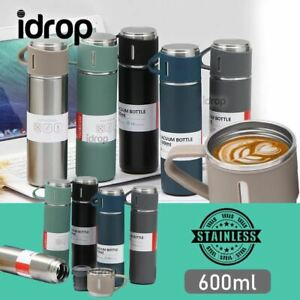 idrop Stainless Steel Portable Travel Sports Thermal Insulated Water Bottle