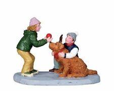 """LEMAX Decorazione """"ROVER come Rudolph"""", NUOVO FUMETTO Natale Torta Decorazione Figura"""