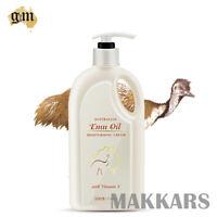 G&M Australian Emu Oil Moisturising Cream 500g (with Vitamin E)