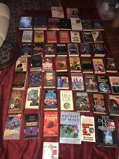 Vintage Science Fiction Lot Of 53 Books