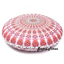 Pouf Ottoman Cover Indian Bohemian Meditation Home Decor Tapestry Dog Seating