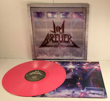 JIM BREUER songs from the garage PINK VINYL Lp Record w/ Brian Johnson of AC/DC
