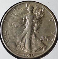 1938-D Walking Liberty Half Dollar, FREE SHIPPING!!! WLHR10