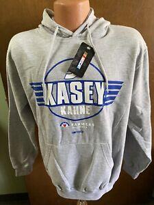 Kasey Kahne #5 Nascar Farmers Insurance Men's Pullover Hoodie Medium