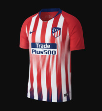 Camiseta HOMBRE personalizable Atletico Madrid 18/19  Rojo + parches  S M L XL