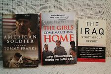 Lot 3 THE IRAQ STUDY GROUP REPORT GIRLS COME MARCHING WARRIORS AMERICAN SOLDIER