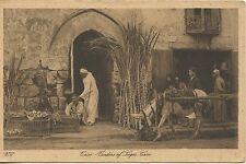 POSTCARD / CARTE POSTALE EGYPT EGYPTE CAIRO VENDORS OF SUGAR CANE