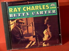 """DCC GZS-1050 RAY CHARLES & BETTY CARTER""""(JAPAN-24 KT GOLD COMPACT DISC/NEARMINT)"""