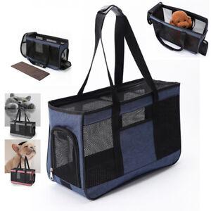 Dog Purse Carrier Soft-Sided Pet Carrier for Cat Puppy Kitten Pet Travel Handbag