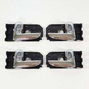 Genuine Inner Chrome Door Handle LH RH 4ea For Kia Spectra 2007-2009
