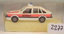 Rietze 1/87 50121 Mazda 626 Limousine Notarzt OVP #2277