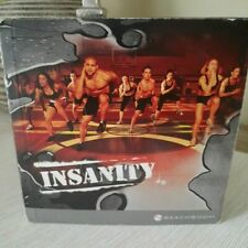 INSANITY Beachbody Total Body Workout Complete 10-Disc DVD Set