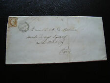 FRANCE - lettre 185? (cy34) french (timbre yt n° 13B)