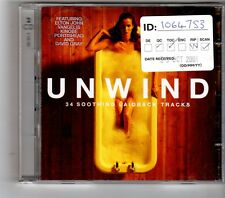 (HK382) Unwind, 34 Soothing Laidback Tracks - 2001 double CD