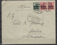 B2558/ BELGIUM GERMAN OCC – MI # 2 + 3 (PAIR) ON COVER