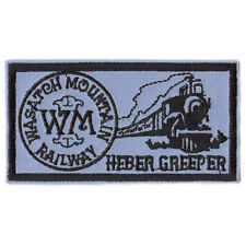 Patch- Wasatch Mountain Railway Heber Creeper  #12476 -NEW- Free Ship