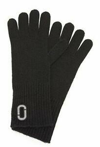 Marc Jacobs Classic Cashmere Gloves Black Women's One Size 60824