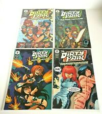 The Dirty Pair Run from the Future #1 - #4 Dark Horse Comics Bruce Timm Variant