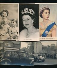 Royalty QUEEN ELIZABETH II and family x15 Mainly RP PPCs
