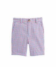 NWT Vineyard Vines Boys Gingham Seersucker Breaker Shorts 16