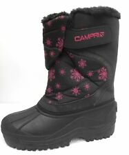 NEW Campri Girls Children's Snow Boots UK 3 Apres Ski Waterproof Winter Boot