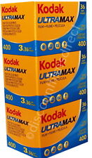 3 x  KODAK ULTRAMAX 400 35mm 36exp CHEAP COLOUR PRINT  FILM - by 1st CLASS POST