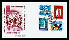 FDC UN Geneva #7 #9-11 Definitive Issues BOUCHARDY UNPA U/A First Day 1970