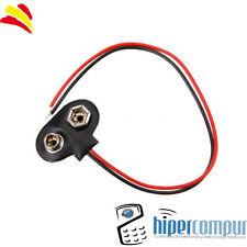 Conector batería adaptador pila 9V Battery Para Arduino, prototipos, proyectos