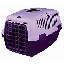 Trixie portador del animal doméstico para Gatos, Pequeños Perros O Conejos Lila/Violeta-Libre P&P