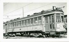 P792 RP 1940s MILWAUKEE ELECTRIC RAILWAY & TRANSPORT CO CAR #647 ' S 80TH ST '