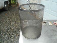 Giles Commercial Cf 400 Fryer Stainless Steel Fryer Basket