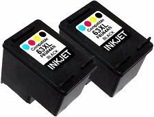 2PK Ink Cartridge For HP 63XL HP63XL F6U64AN Black Officejet 4650 All-in-One 383