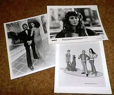Sonny and Cher rare vintage photos including Scooby Doo original 8x10 Lot great