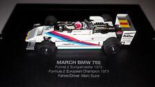 Minichamps 1/43 Dealer March BMW 792 1979 Formula 2 European Champion Marc Surer