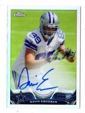 Topps Chrome American Football Trading Cards Rookie