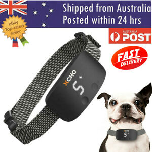 Premium Compact Dog Bark Collar Anti shock-vibrate-sound Barking Training Collar