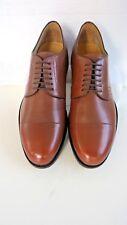 Massimo Dutti  Mens Full Brown Oxford 6 lace Shoe Size UK 8-EU 42