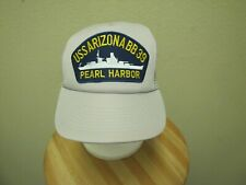 New, USS Arizona BB39, Pearl Harbor Adjustable Cap/Hat.