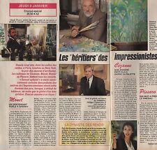 Coupure de presse Clipping 1992 Les Héritiers des Impressionistes  (1 page 1/2)