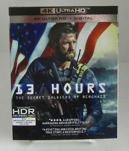 13 Hours: The Secret Soldiers of Benghazi 4k Blu-ray+Dig Paramount No Slipcover