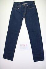Lee Boyfriend Indigo Code Y1268 tg47 W33 L34 jeans taille haute d'occassion