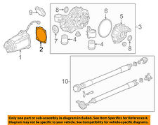 GM OEM Axle Differential-Rear-Front Housing Gasket 15864790
