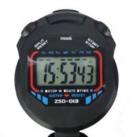Handheld Digital LCD Chronograph Sports Stoppuhr Timer Stoppuhr S6N7