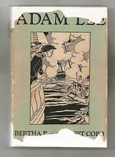 ADAM LEE by BERTHA P. AND ERNEST COBB 1938 1st EDITION SIGNED W/DJ * ILLUSTRATED