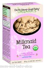 EARTH MAMA ANGEL BABY MILKMAID TEA CAFFEINE FREE HERBAL