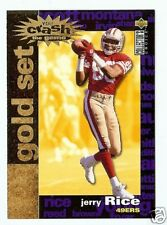 """95 COLLECTORS CHOICE """"CRASH THE GAME GOLD"""" JERRY RICE"""