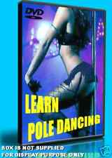 LEARN POLE DANCE/DANCING, HOW TO INSTRUCTION GUIDE STEP BY STEP TUITIONAL DVD