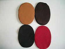 REAL DEERSKIN LEATHER ELBOW PATCH KIT -  SMALL =  5''BY 3.5''    MADE IN THE USA